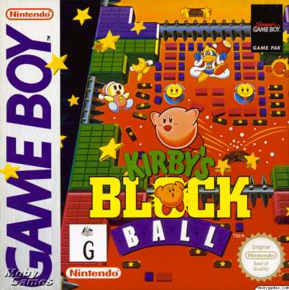 Game Boy Games - Kirby's Block Ball