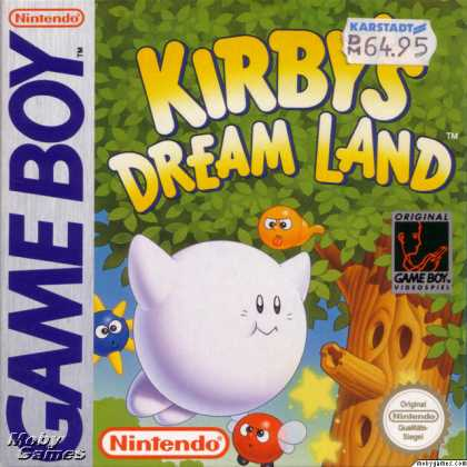 Game Boy Games - Kirby's Dream Land