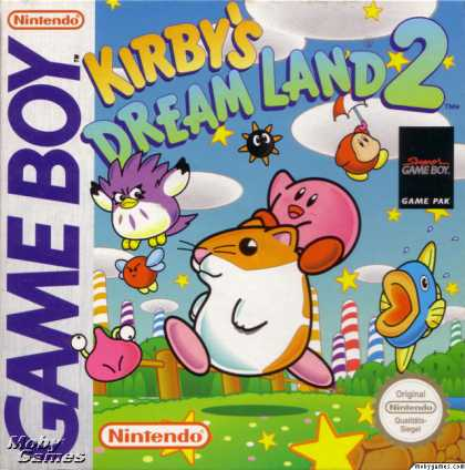 Game Boy Games - Kirby's Dream Land 2