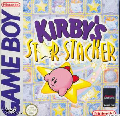 Game Boy Games - Kirby's Star Stacker