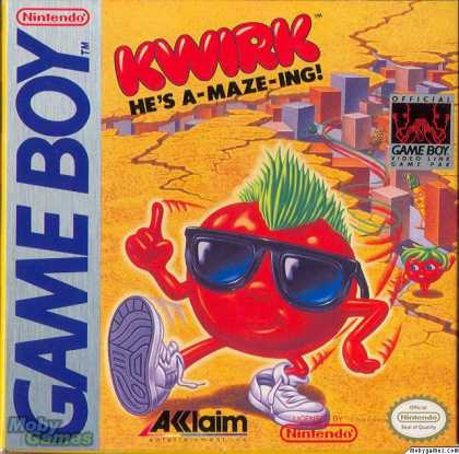 Game Boy Games - Kwirk