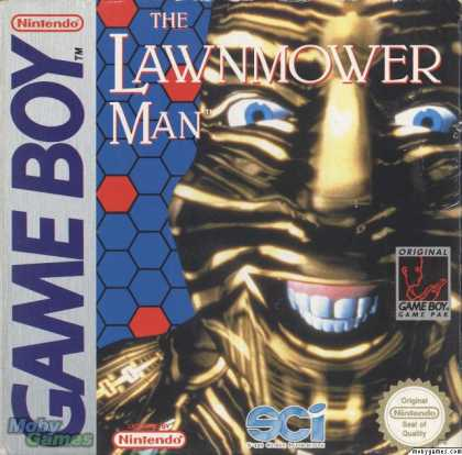 Game Boy Games - The Lawnmower Man