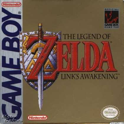 Game Boy Games - The Legend of Zelda: Link's Awakening