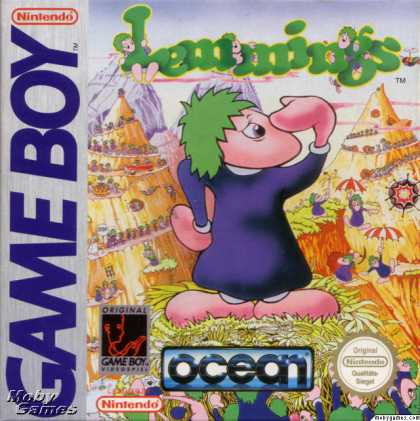 Game Boy Games - Lemmings
