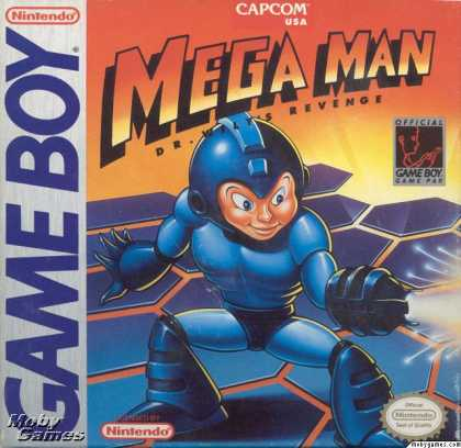 Game Boy Games - Mega Man: Dr. Wily's Revenge