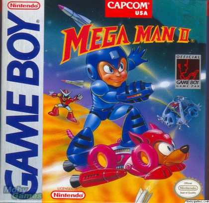 Game Boy Games - Mega Man II