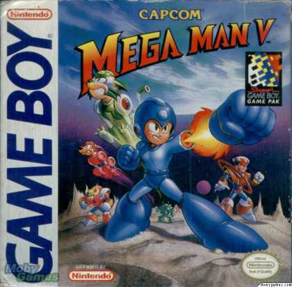 Game Boy Games - Mega Man V