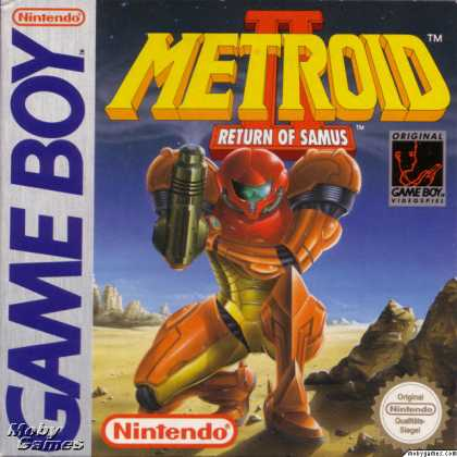 Game Boy Games - Metroid II: Return of Samus