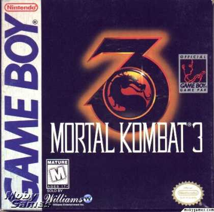 Game Boy Games - Mortal Kombat 3