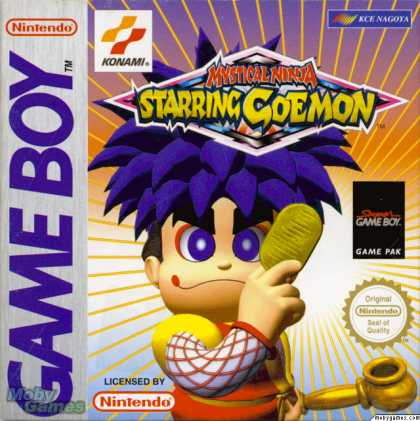 Game Boy Games - Mystical Ninja Starring Goemon