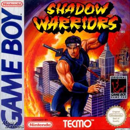 Game Boy Games - Ninja Gaiden: Shadow