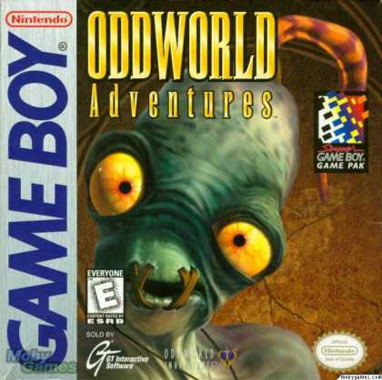 Game Boy Games - Oddworld: Adventures