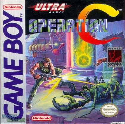 Game Boy Games - Operation C