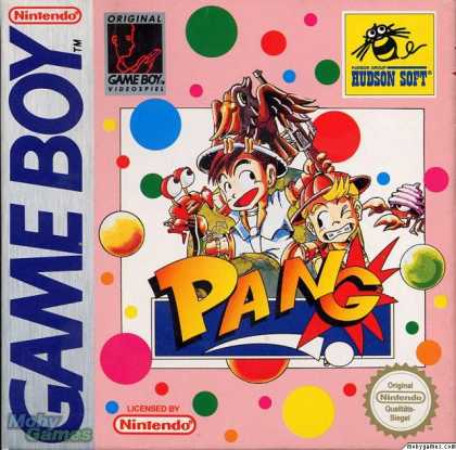 Game Boy Games - Pang
