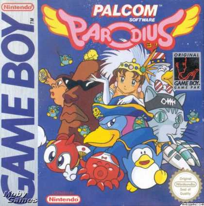 Game Boy Games - Parodius