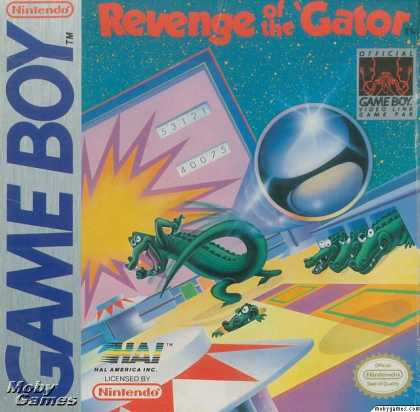 Game Boy Games - Pinball: Revenge of the 'Gator