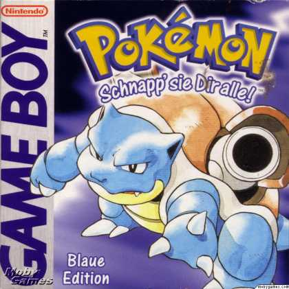 Game Boy Games - Pokémon Blue