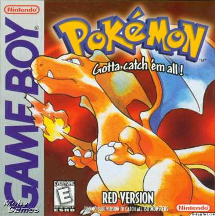 Game Boy Games - Pokémon Red