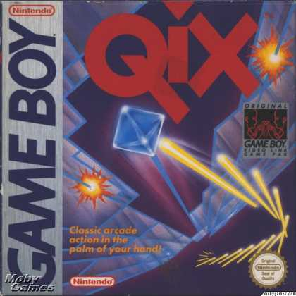 Game Boy Games - Qix