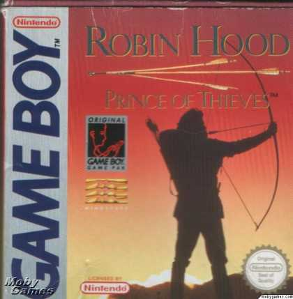 Game Boy Games - Robin Hood: Prince of Thieves