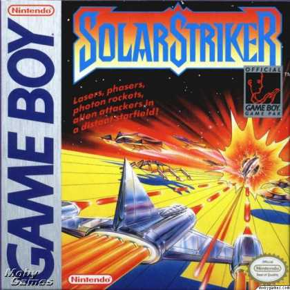 Game Boy Games - Solar Striker