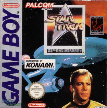 Game Boy Games - Star Trek 25th Anniversary
