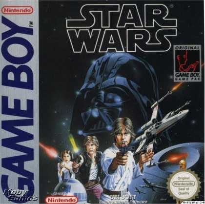 Game Boy Games - Star Wars