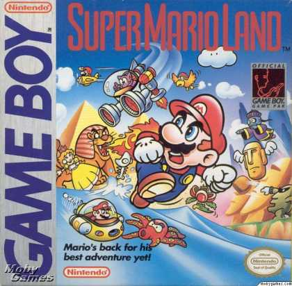 Game Boy Games - Super Mario Land