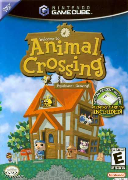 GameCube Games - Animal Crossing