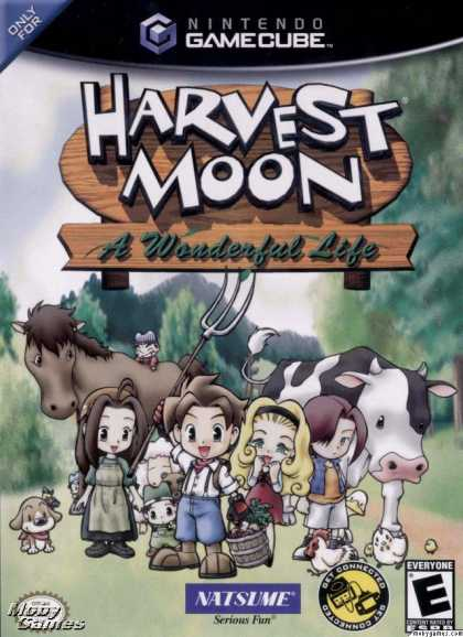 GameCube Games - Harvest Moon: A Wonderful Life