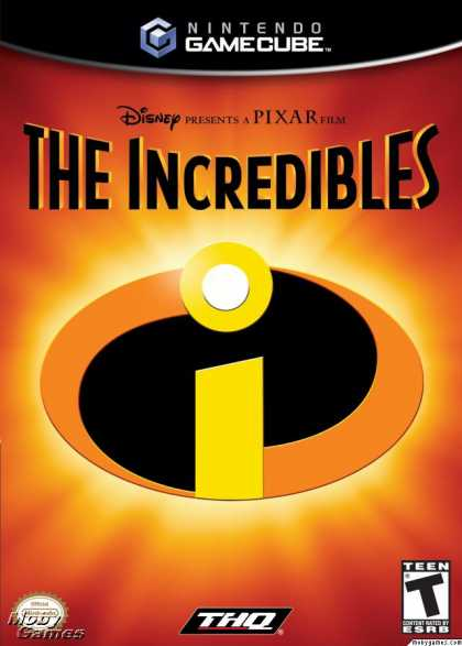 GameCube Games - The Incredibles