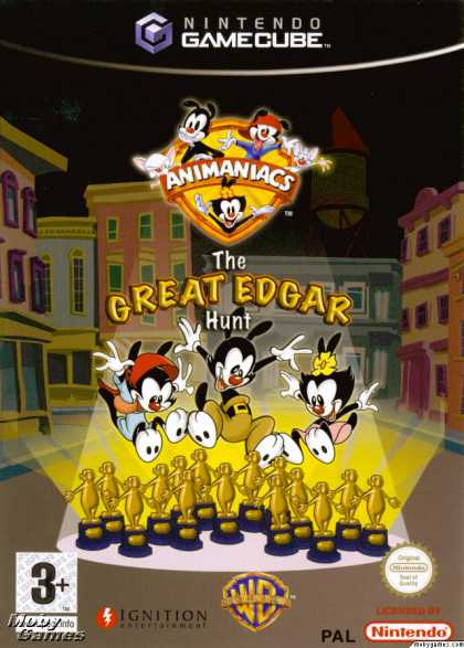 GameCube Games - Animaniacs: The Great Edgar Hunt