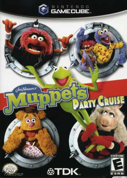 GameCube Games - Jim Henson's Muppets Party Cruise