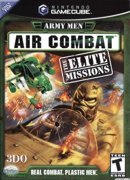 GameCube Games - Army Men Air Combat: The Elite Missions