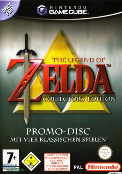 GameCube Games - The Legend of Zelda (Collector's Edition)