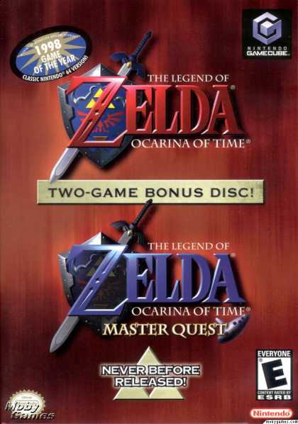 GameCube Games - The Legend of Zelda: Ocarina of Time
