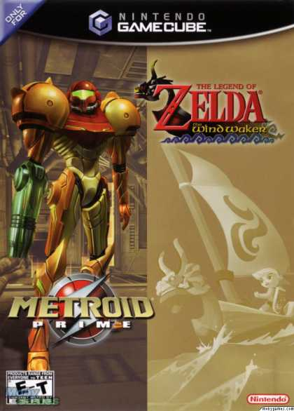 GameCube Games - The Legend of Zelda: The Wind Waker / Metroid Prime