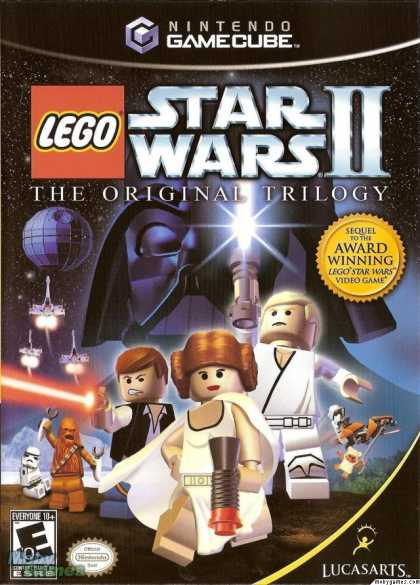 GameCube Games - LEGO Star Wars II: The Original Trilogy