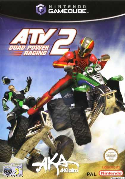 GameCube Games - ATV: Quad Power Racing 2