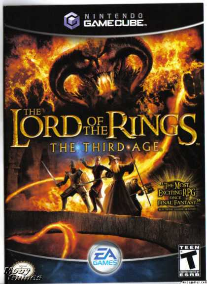 GameCube Games - The Lord of the Rings: The Third Age
