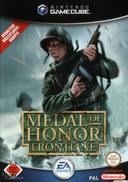 GameCube Games - Medal of Honor: Frontline