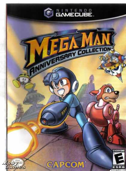 GameCube Games - Mega Man Anniversary Collection