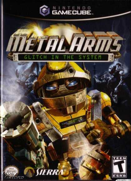 GameCube Games - Metal Arms: Glitch in the System