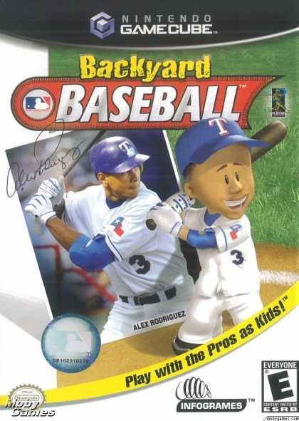 GameCube Games - Backyard Baseball