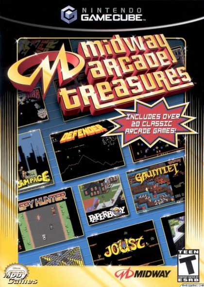 GameCube Games - Midway Arcade Treasures
