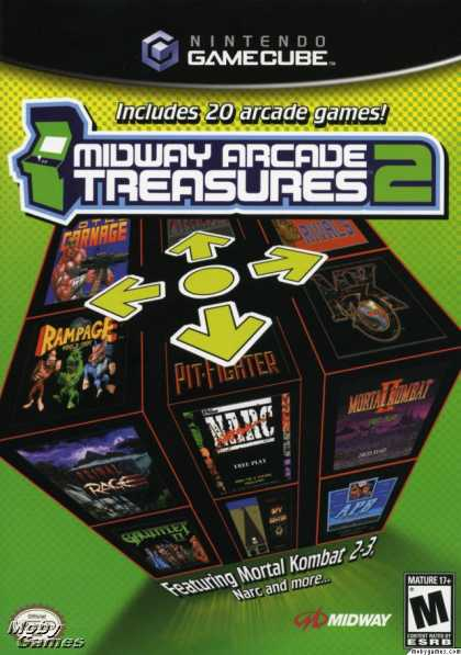 GameCube Games - Midway Arcade Treasures 2