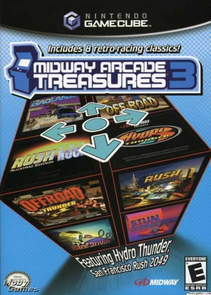 GameCube Games - Midway Arcade Treasures 3