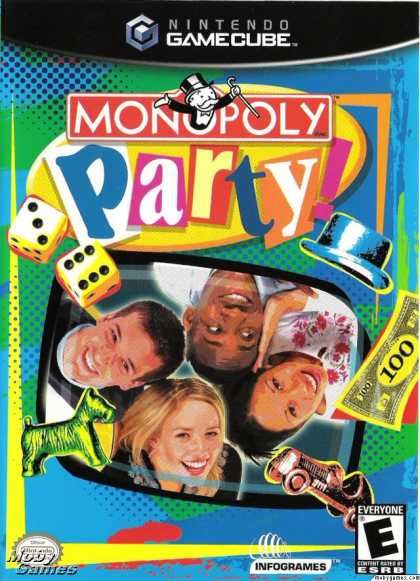 GameCube Games - Monopoly Party