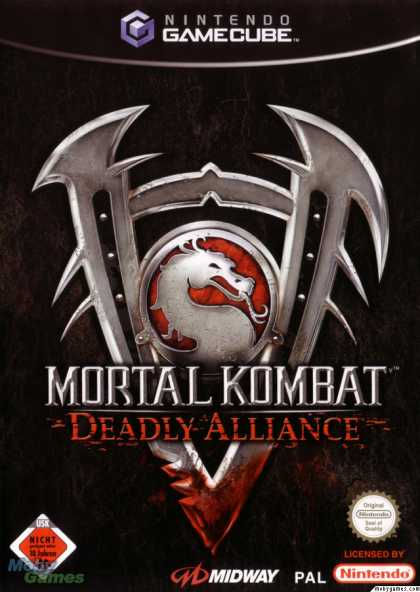 GameCube Games - Mortal Kombat: Deadly Alliance