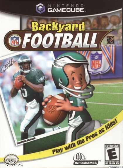GameCube Games - Backyard Football